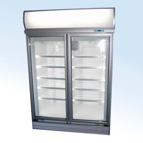 New Commercial Freezer 2 Glass Door Upright Supermarket