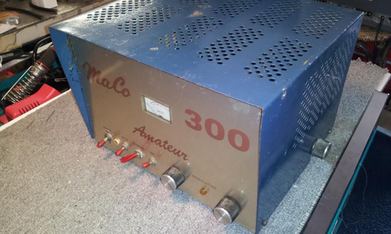 Maco 300 amature tube amp cb ham 10 meter linear