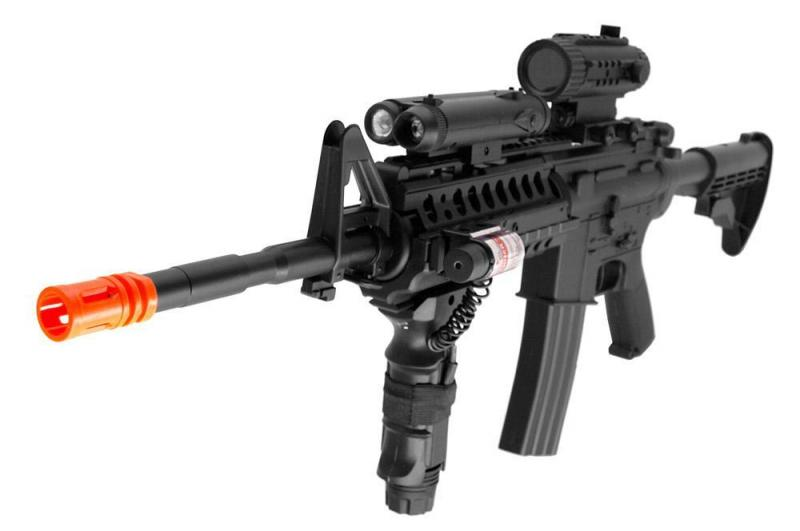 ... Firepower F4D M4 Fully Automatic Electric Airsoft Rifle Gun M4A1 M16