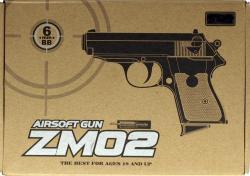 ZM02 G3 FULL METAL SPRING airsoft pistol 230 FPS James Bond