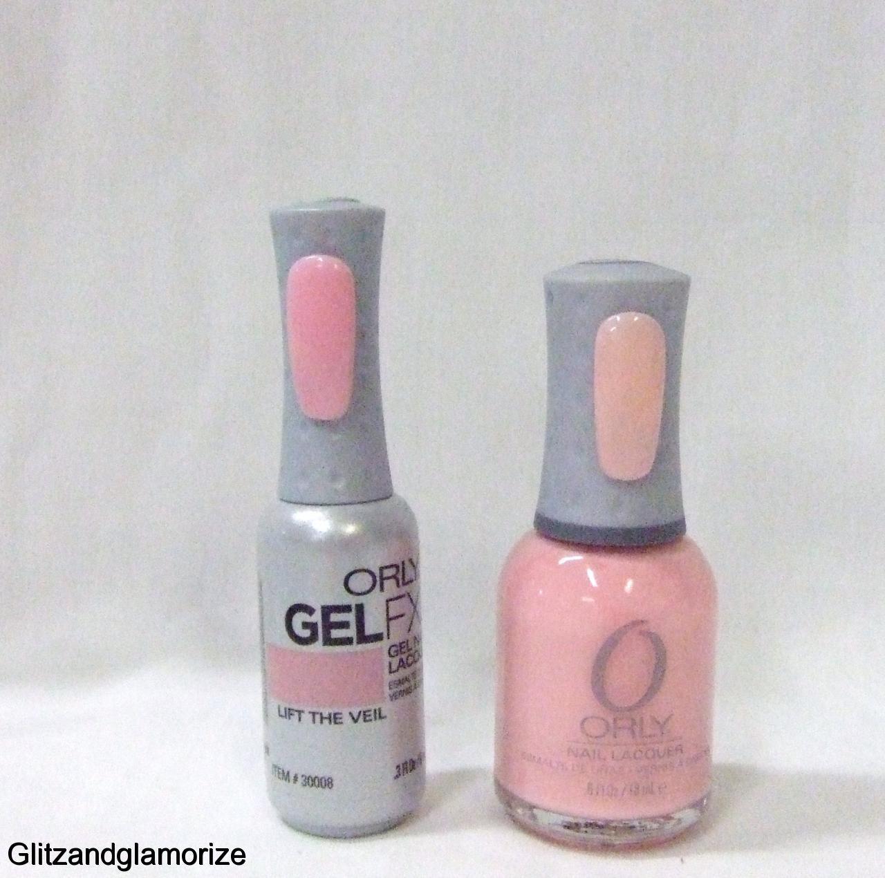Orly GelFX Gel FX Gel Nail Lacquer + Nail Polish Lift The Veil 30008