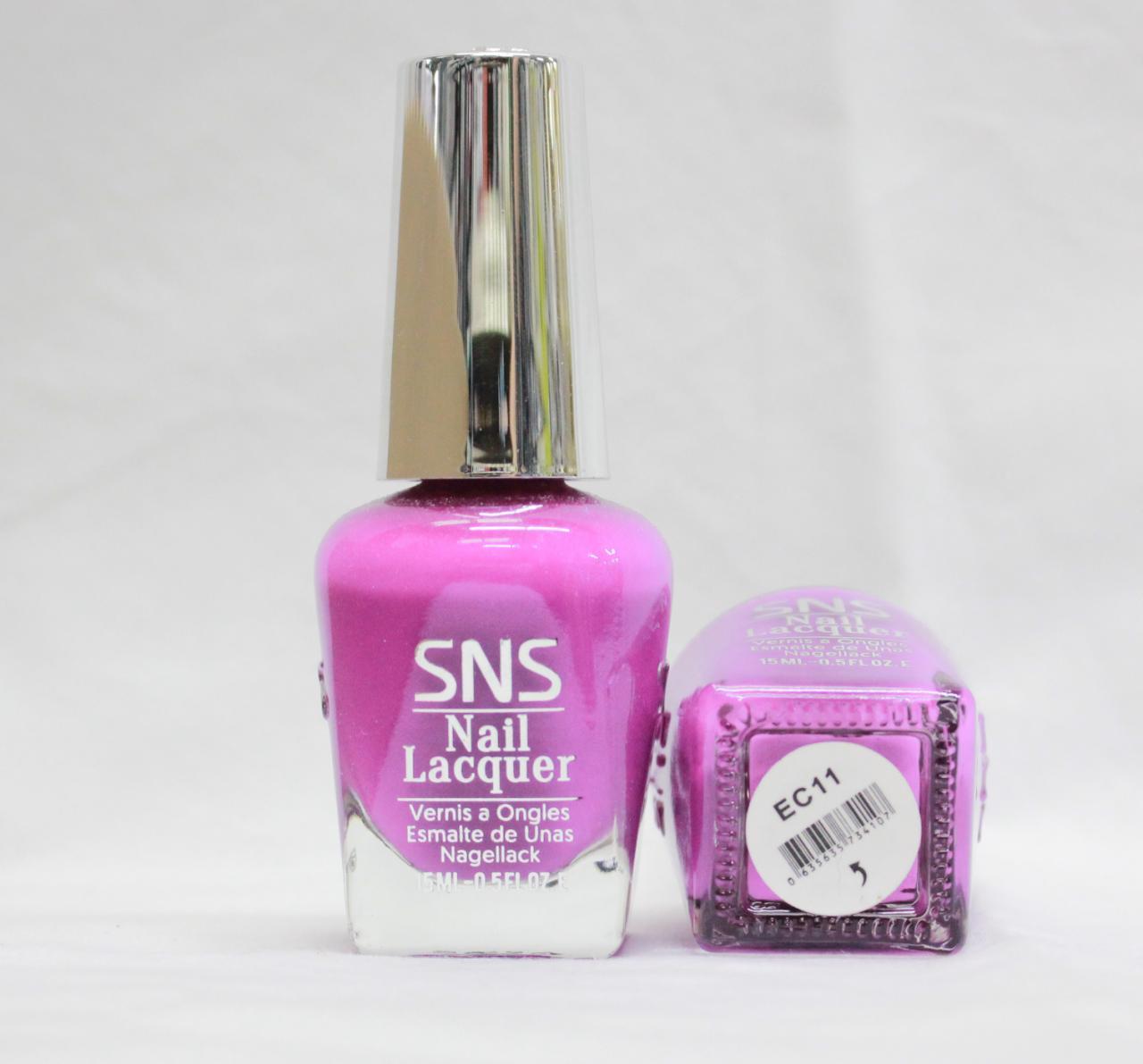 SNS Nail Polish Lacquer (Same Color As Dipping Powder) .5oz/15mL BC2 ...