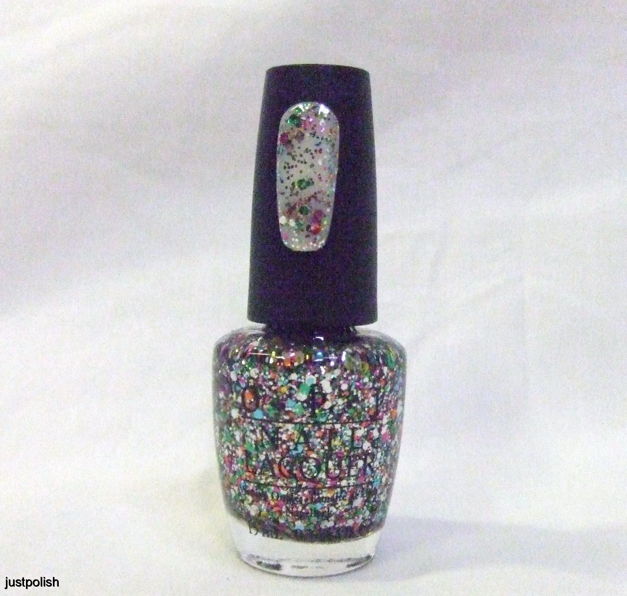 Glitter Nail Polish Rainbow: OPI Nail Polish Color Muppets Glitter Rainbow Connection