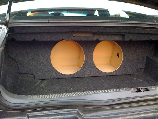 custom 00 06 lincoln ls sub subwoofer enclosure speaker box concept enclosures. Black Bedroom Furniture Sets. Home Design Ideas