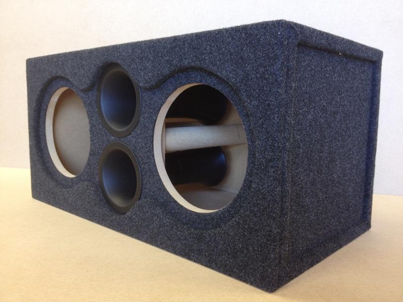 Details about Ported Sub Box Subwoofer Enclosure for 2 10