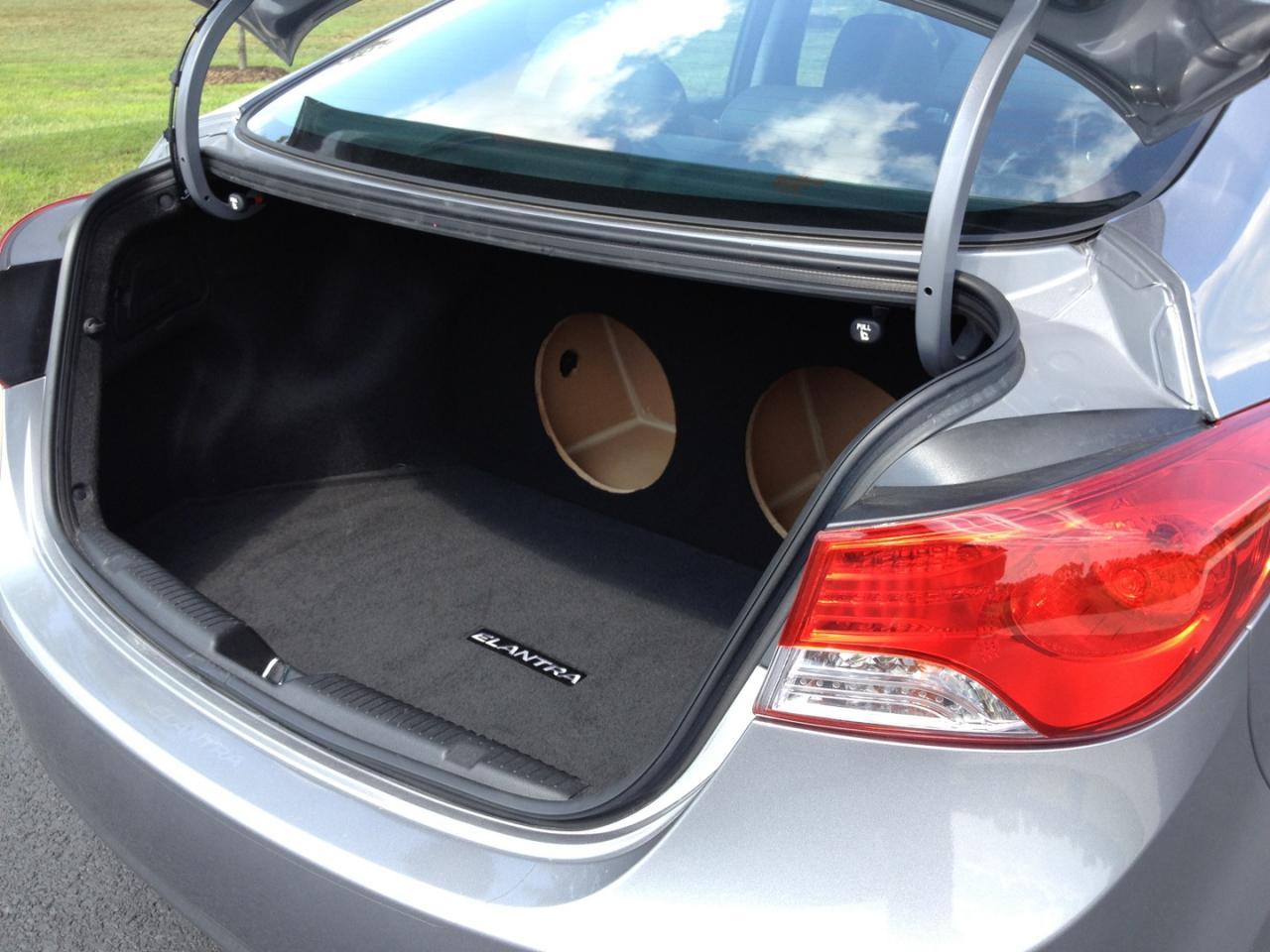 For 2011-2016 Hyundai ELANTRA Custom Sub Box Subwoofer Speaker Enclosure