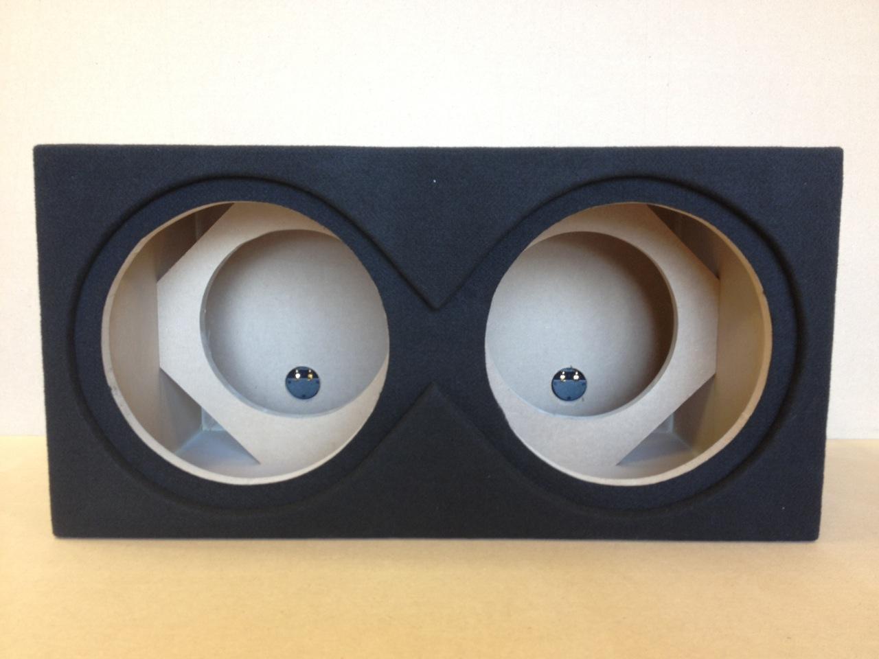 "Sealed Subwoofer Enclosure for 2 12"" JL Audio 12w7 Subs ..."