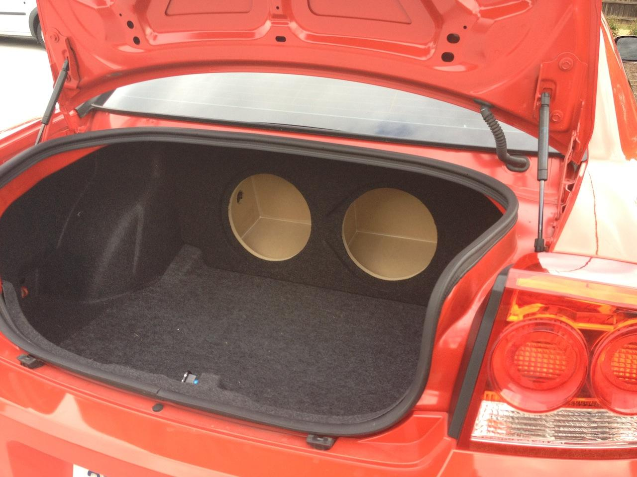 2011+ Chrysler 300 300C Custom Subwoofer Enclosure Sub Speaker Box 2 10