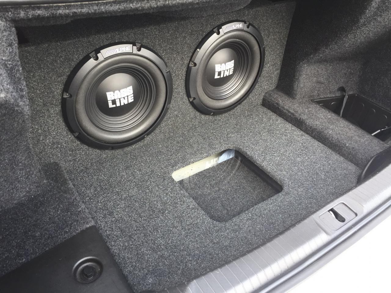 Custom Sub Box Subwoofer Speaker Enclosure for a 2013-2017 Cadillac ATS