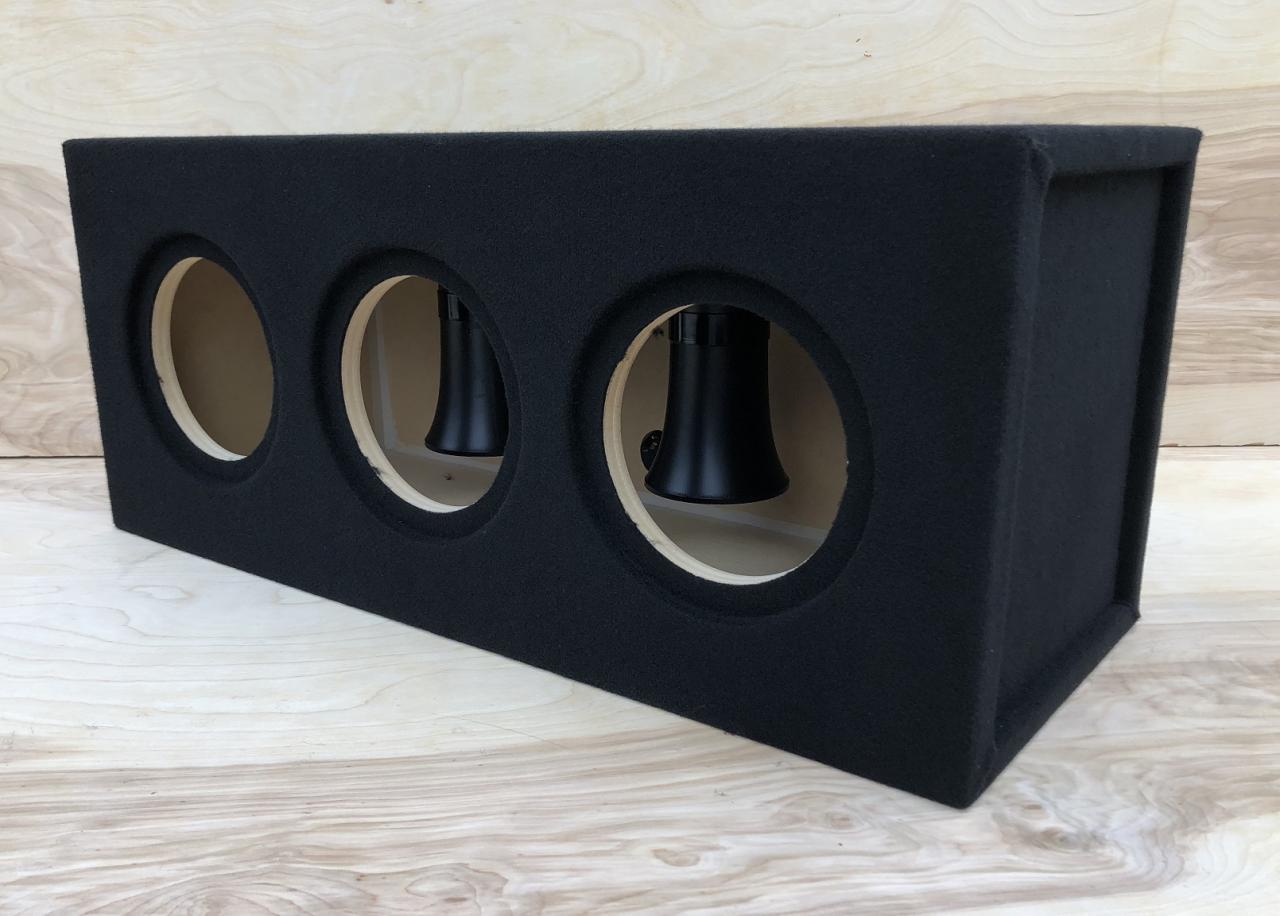 Custom Ported//Vented Sub Box Subwoofer Enclosure for 2 Sundown SA-12 SA12 Subs 32hz