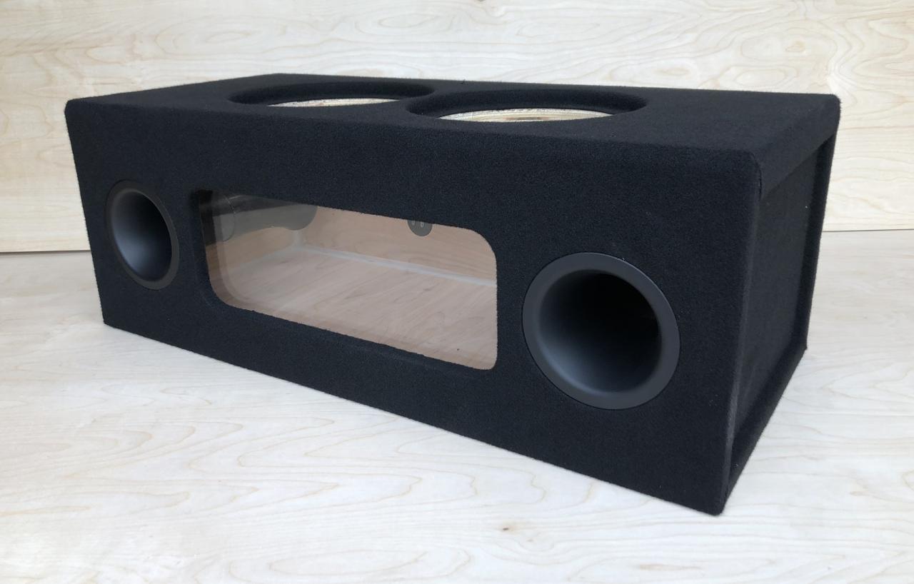 "Custom Ported Sub Box Enclosure for 2 10/"" Sundown Audio SA10 SA-10 Subs 35 Hz"