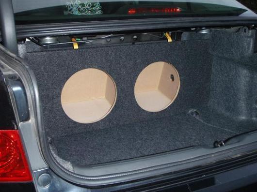 Custom 03 08 Acura Tsx Sub Subwoofer Box Speaker Enclosure