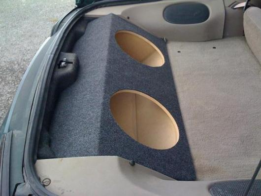how to build a subwoofer box for 2 12s