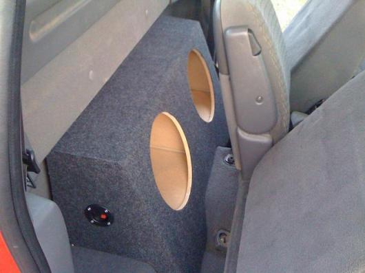 97-03 Ford F150 F-150 Sub Subwoofer Box Speaker Enclosure ...