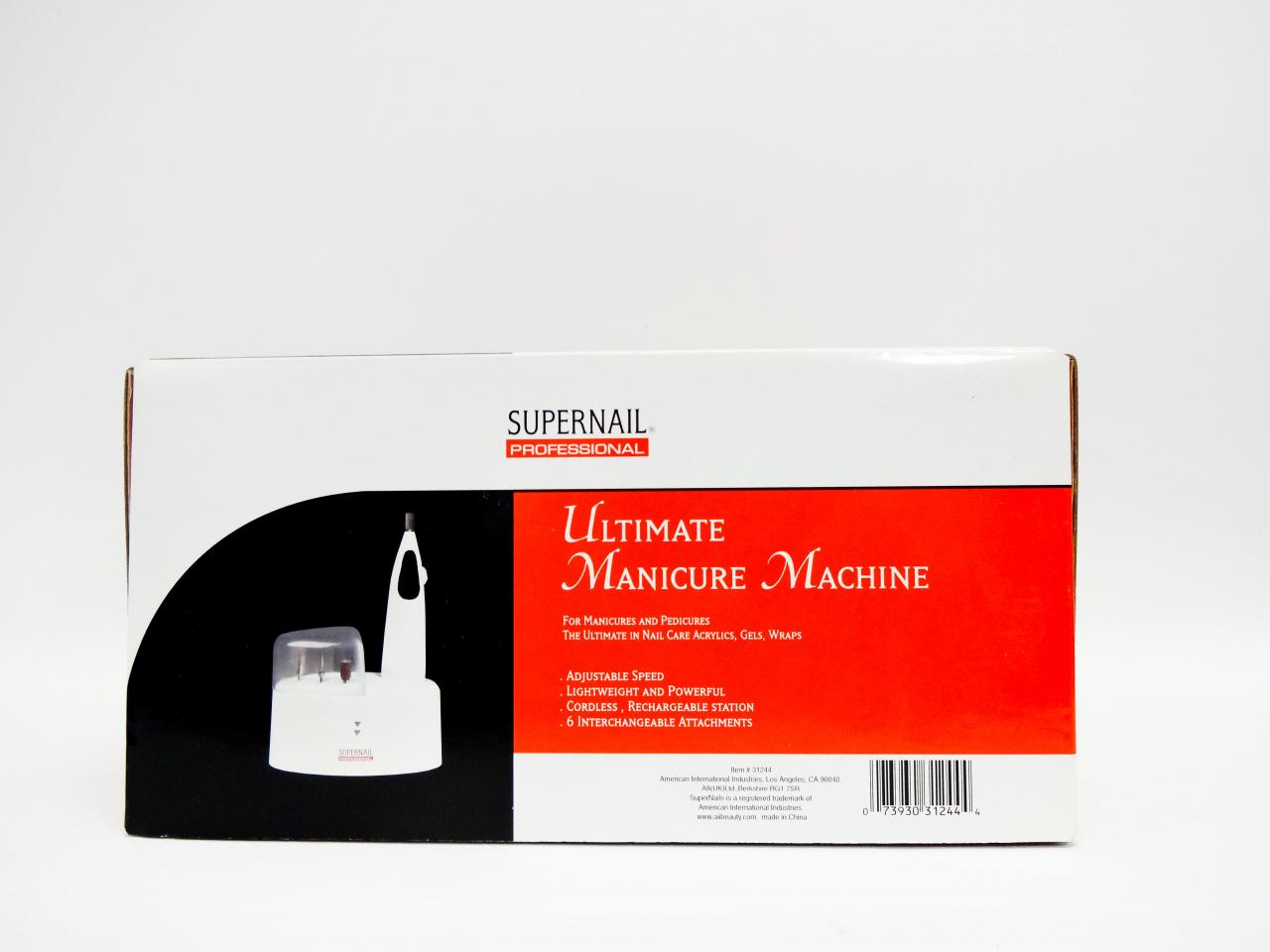 supernail ultimate manicure machine
