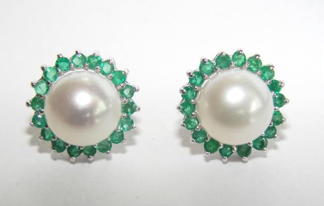 Bid4ets Auction Detail 623356 Akoya Pearl Earrings 8 5