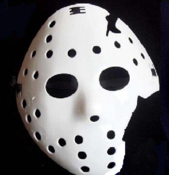 jason maske weiss freitag der 13te 13 friday the neu halloween fasching wei ebay. Black Bedroom Furniture Sets. Home Design Ideas