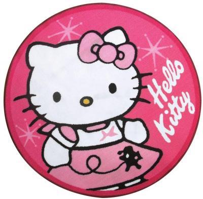 teppich hello kitty rund pink 90cm sanrio neu. Black Bedroom Furniture Sets. Home Design Ideas