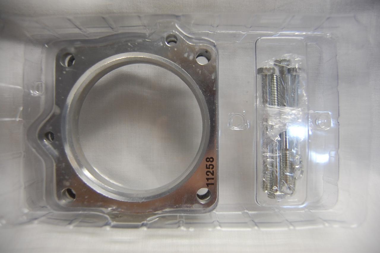 Spectre 11258 Aluminum Throttle Body Spacer for 2003-08 Dodge 5.7 Ram Durango