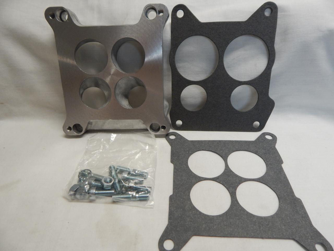 What Does A Throttle Body Spacer Do >> Edelbrock 2696 Carb Adapter Kit Spread Bore to Square Bore ...