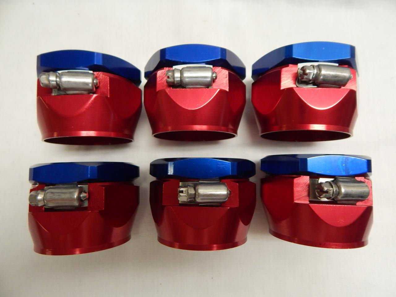 "Lot of 4 Spectre 6160 Magna Aluminum Clamp Fits 2.25/"" OD Radiator Hose 1.75/"" ID"