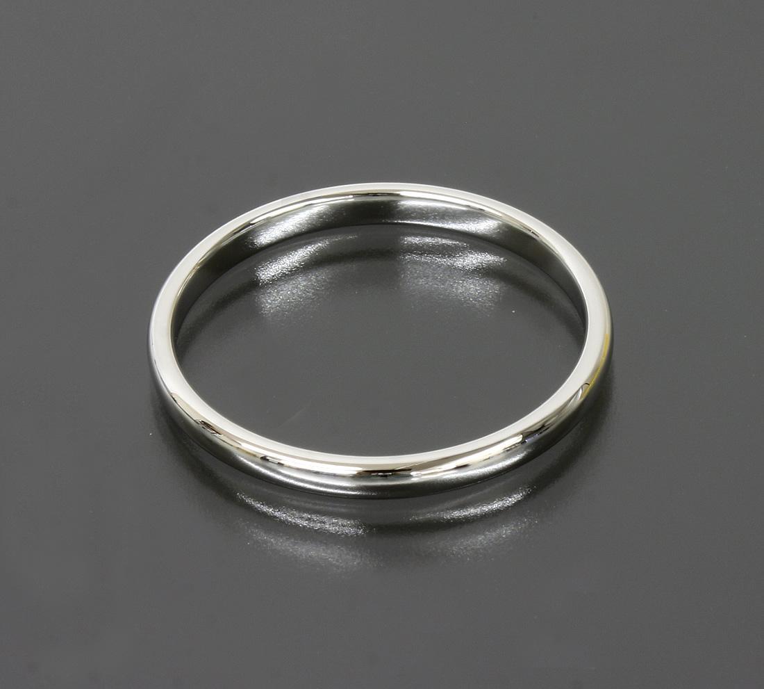 auth co lucida wedding band ring 2 mm platinum