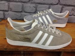 Adidas Gazelle Gris Y Corcho
