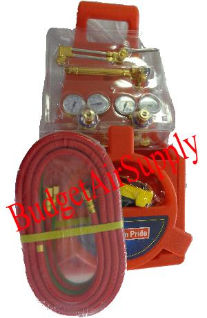 Portable Welding Oxygen Acetylene Torch Kit With Tote No