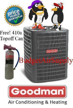 Goodman 4 Ton 14 Seer Heat Pump A C Condenser Charged 410a