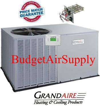 3 Ton 14 Seer Icp Grandaire Model A C Package Unit Heat