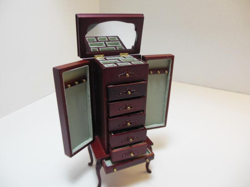 Dollhouse Miniatures Furniture 112 3020mh Mahogany