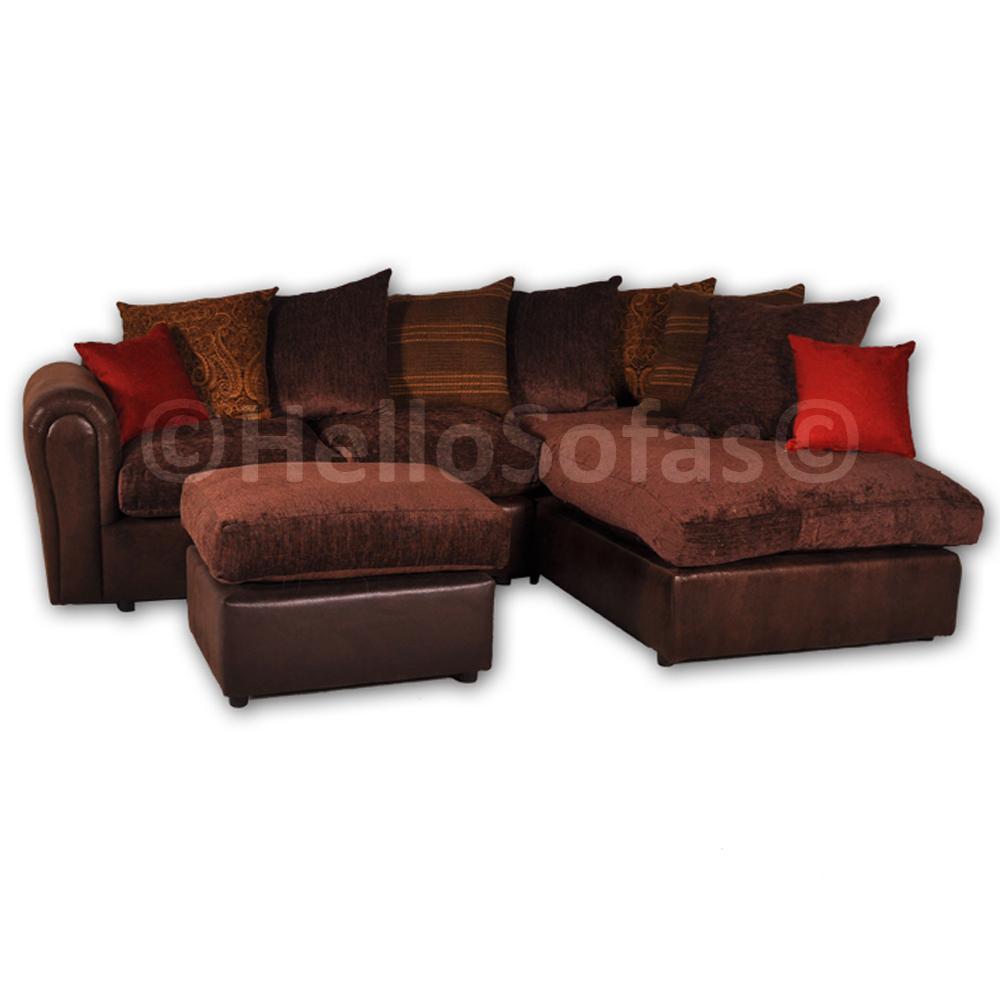 barcelona brown corner sofa lh swivel chair images