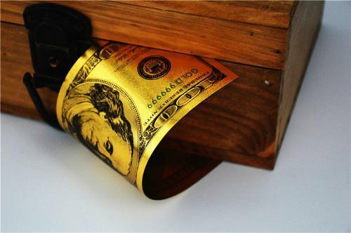 """2XMINT☆OLD STYLE /""""GOLD/""""$100.00 GOLD☆CERTIFICATE Hundred DOLLAR Rep.*Bank☆note☆"""