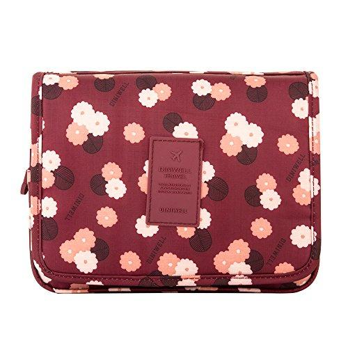 b1da630d2d90 Details about DINIWELL Expandable Travel Hanging Wash Bag Toiletry  Organizer Make up Case