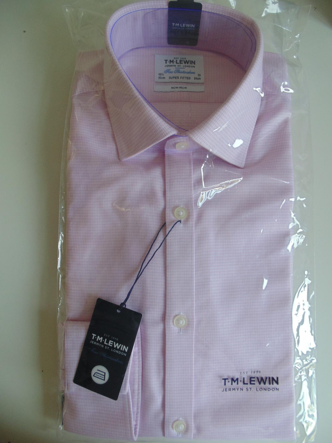 2f35e502 Pink Shirt Tm Lewin - DREAMWORKS