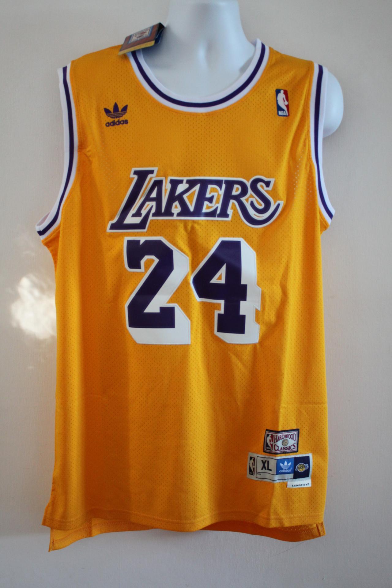 09eb384df80 Cougar. Cougar. Cougar. Cougar. Item Description. Adidas NBA Los Angeles  Lakers 24 Kobe Bryant Hardwood Classics Basketball Yellow Jersey Top