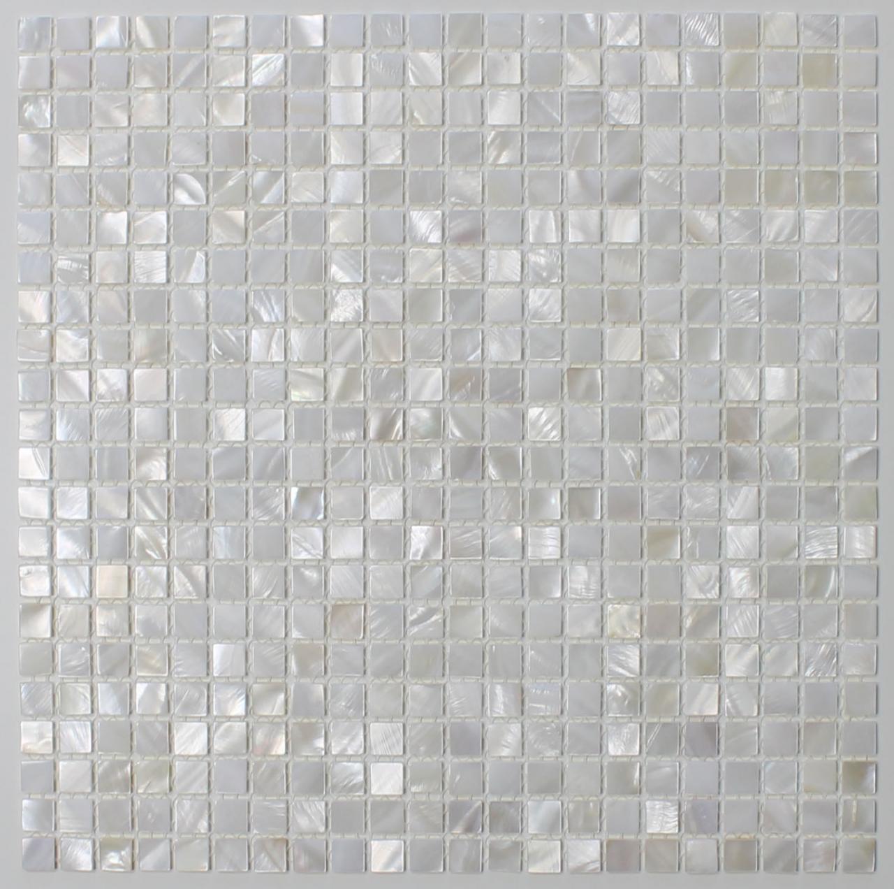Mother of Pearl Oyster White Subway Mosaic Tiles Kitchen Backsplash