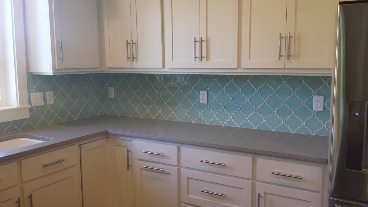- Seafoam Colorido Arabesque Azulejos Mosaico De Vidro-Cozinha Pol Backsplash/Banheiro  Azulejo EBay