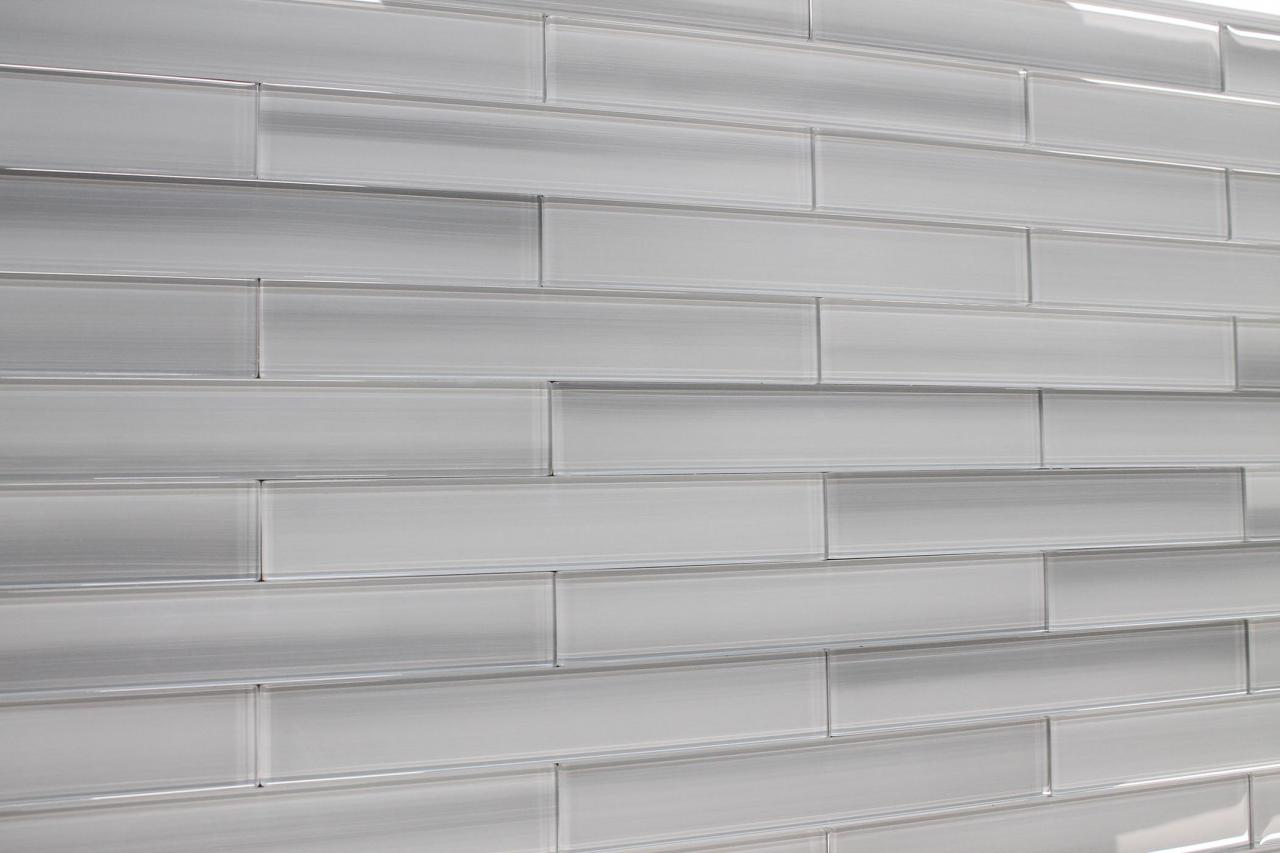 Vail Hand Painted 2x12 Glass Subway Tiles For Kitchen