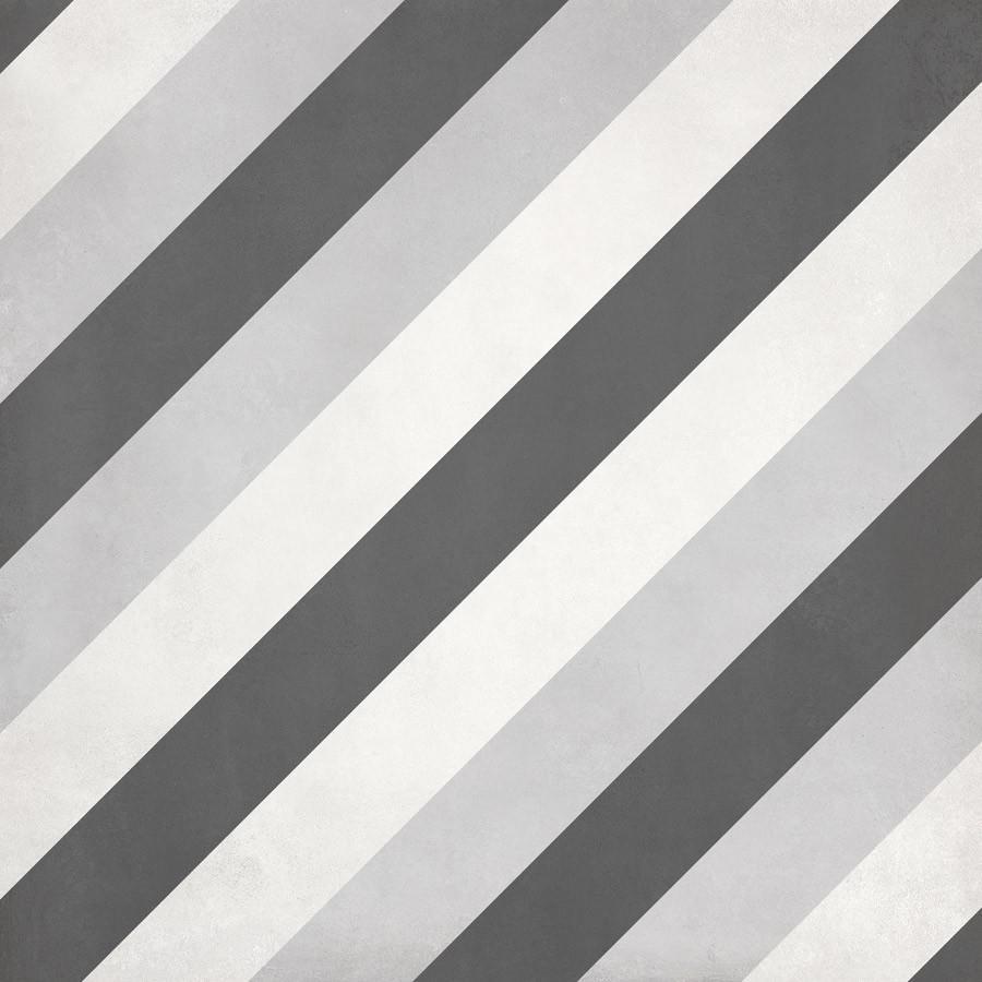 Form 8 X 8 Cement Look Glazed Porcelain Tiles Ice Deco Diamond Wall Floor Ebay