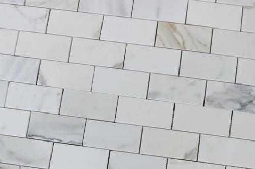 calacatta gold subway tile backsplash - photo #19