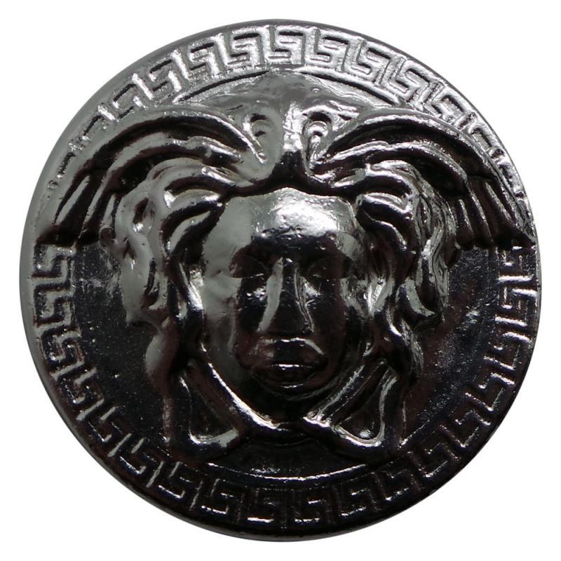 Limited 1 OZ PROOF MEDUSA GREEK MYTHOLOGY # RIM w// COA Silver Snake