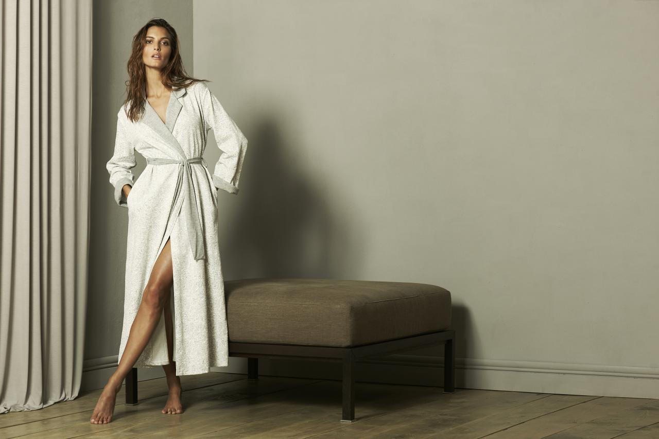 f652d35692 Tata Cream Lace over a Cafe au Lait jersey Base Dressing Gown. Click for  full size image. Click for full size image. Cougar