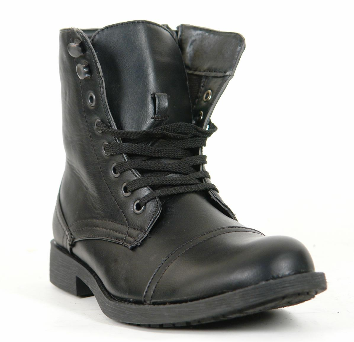 mens combat style boots images hosted at