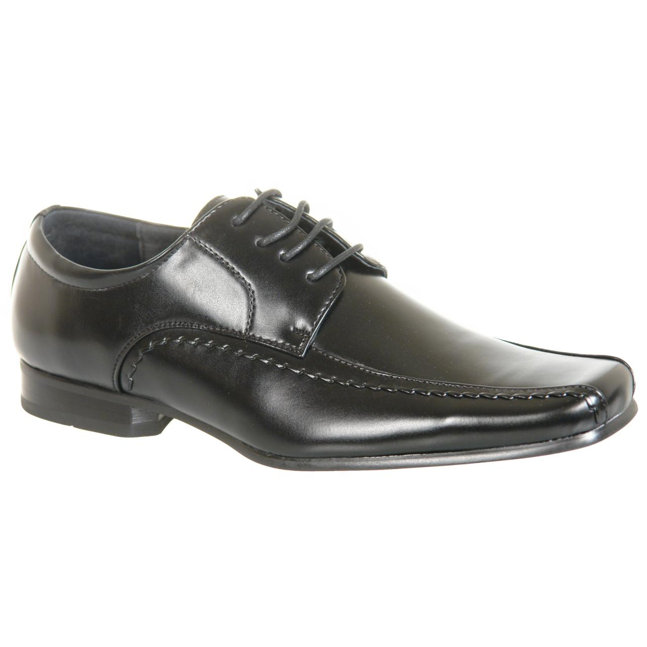 Mens Lace Up Fashion Shoes in Black or Brown - Images hosted at ...