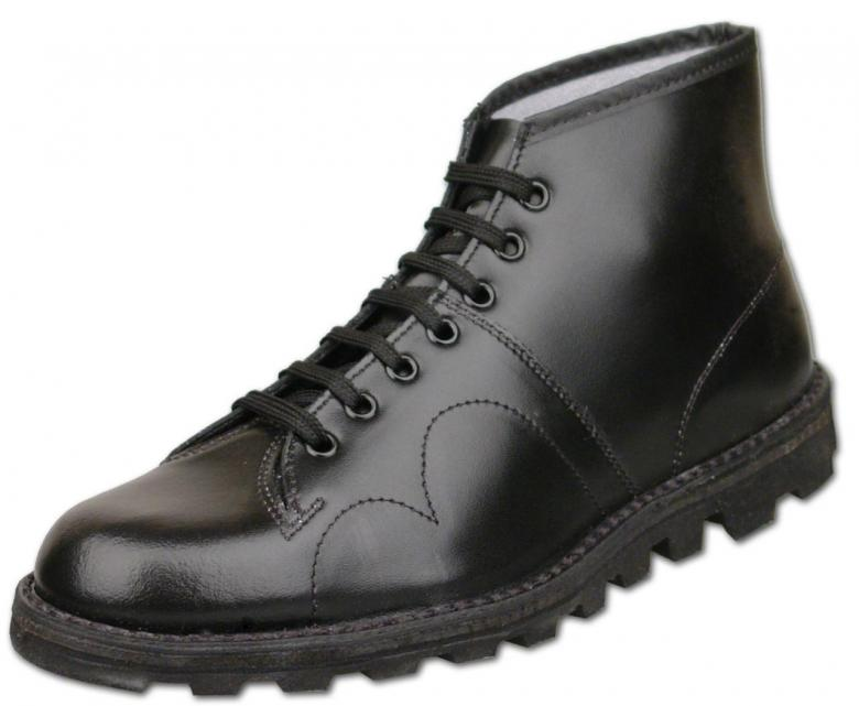 how to make a new leather boot bigger