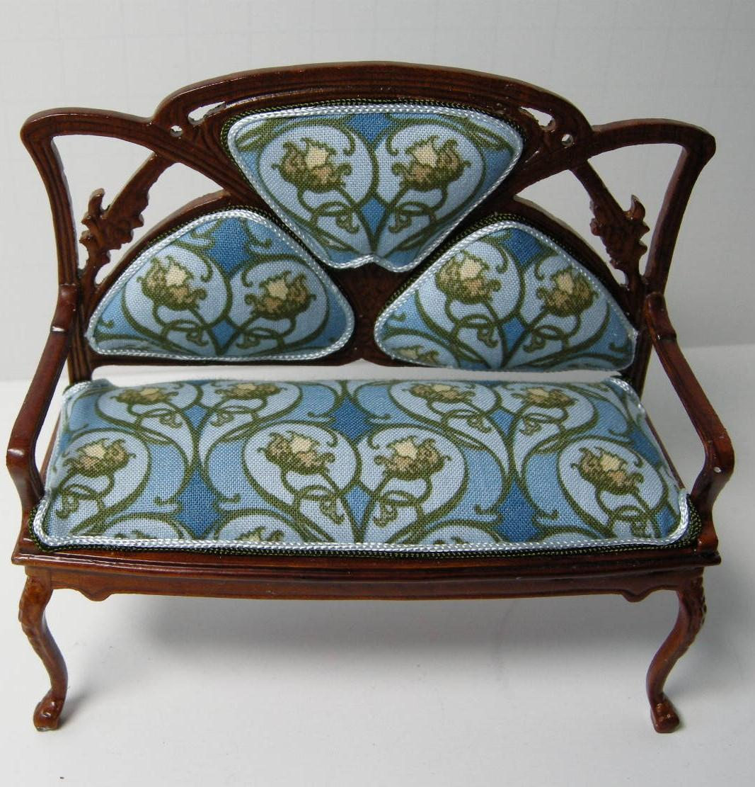 Art Nouveau Sofa Designs