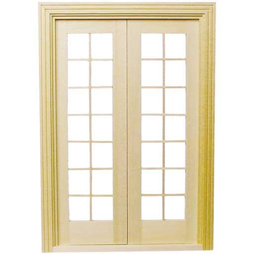Dollhouse 1 24 Or Half Scale Classic French Doors H6011 Ebay