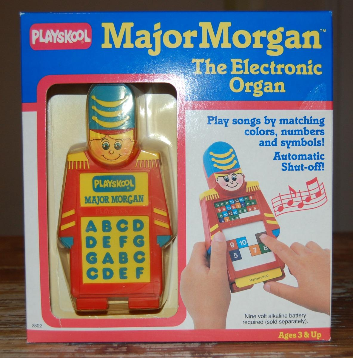 Vintage Playskool Major Morgan Electronic Organ Nib