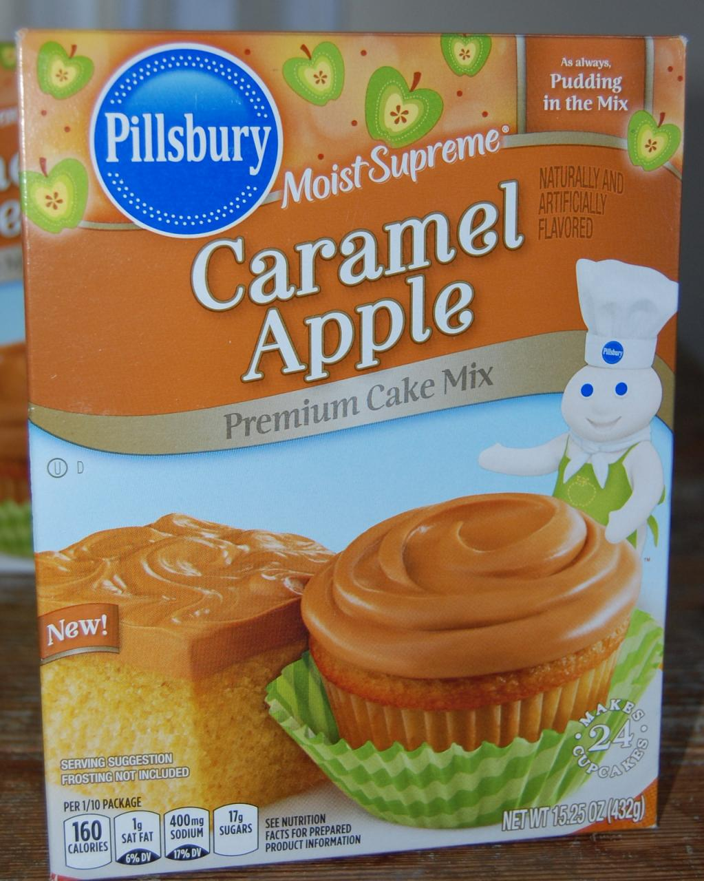 Caramel Apple Cake Mix